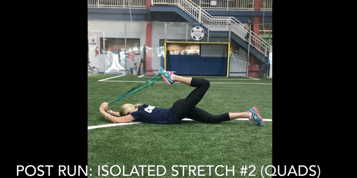 Dynamic Exercises and Isolated Stretches Pre/Post Running