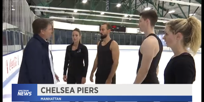 Renowned Choreographer Plans Routine for Ice Theatre of New York