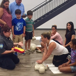 Swim Safety Information Session Held – Part of Safety Step-Up Initiative Presented by Stamford EMS, Safety4Kids and Chelsea Piers