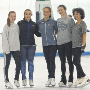 Chelsea to Cali: Sky Rink All Stars Ready for Nationals in California. The team practices at Chelsea Piers NY.