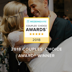 Sunset Terrace Awarded 2018 Couples' Choice Awards